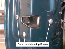 door lock mounting screws & Frankie\u0027s BMW :: 3 Series :: DIY Procedures :: Door Microswitch ... Pezcame.Com