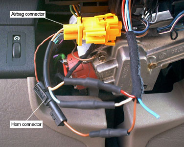 column_underside3small frankie's bmw 3 series diy procedures steering wheel e46 steering wheel wiring at edmiracle.co