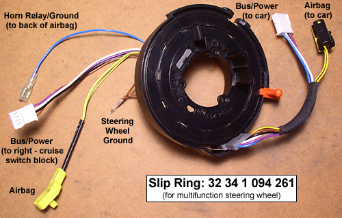 slipring frankie's bmw 8 series diy procedures multifunction BMW 2002 Steering Wheel at crackthecode.co