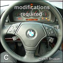 multifunction steering wheel retrofit x5 radio wiring