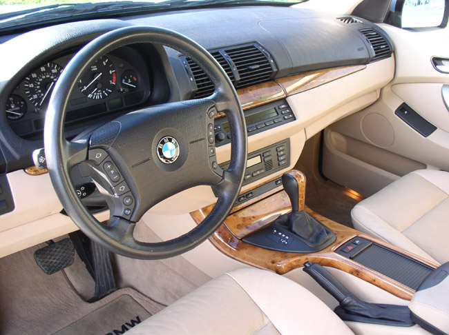 The Gorgeous Stock Interior Of My X5